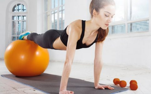 muscu exercices balle